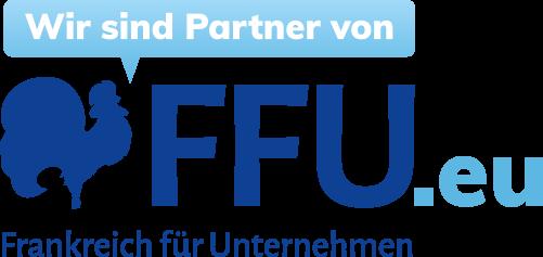 Logo Wir sind Partner von FFU.eu Frankreich für Unternehmen