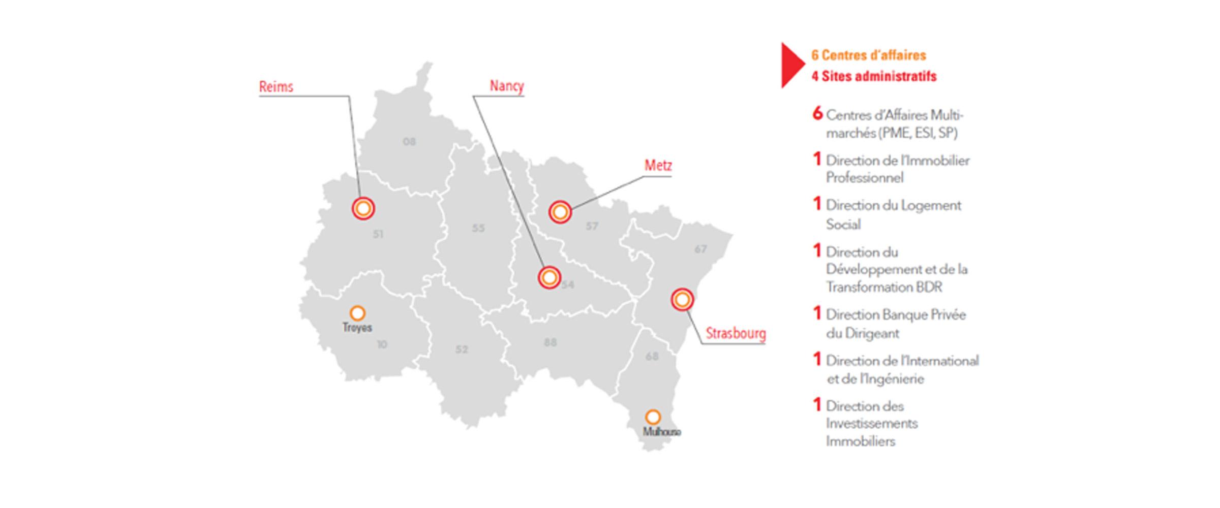 Caisse d'Epargne Grand Est Europe - CEGEE - französische Bank