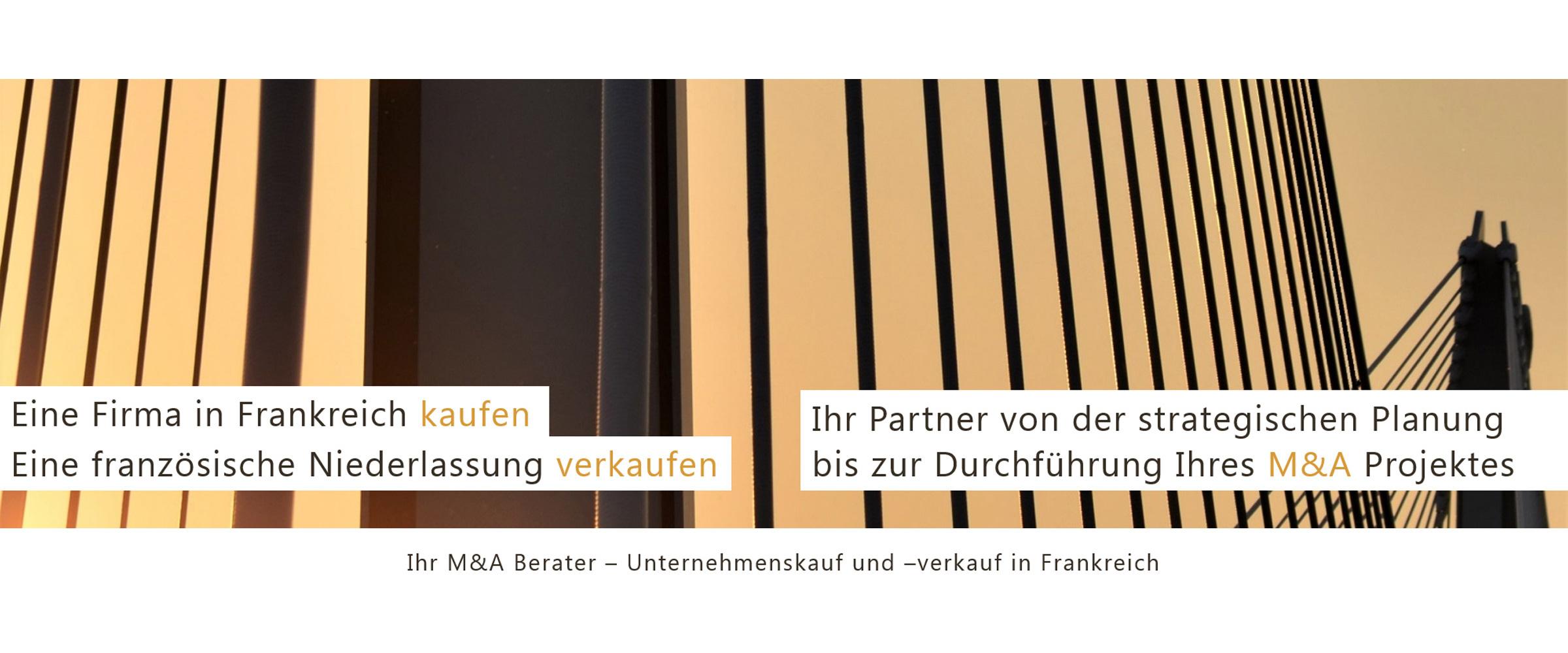 Transversale Conseil - französischer M&A Berater - Unternehmenskauf, Verkauf, Finanzierung
